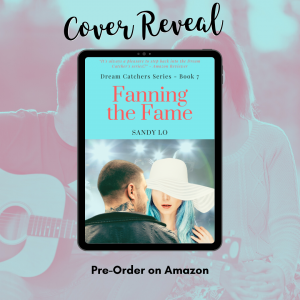 Romance Author Sandy Lo Reveals 'Fanning the Fame' Book Cover | Amazon Pre-Order Now Available